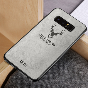 FABRIC DEER CLOTH CASE - 4 COLORS