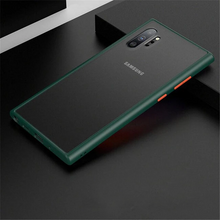 Load image into Gallery viewer, Galaxy Note 10 Bumper Frosted Transparent Hard Case - Tough Guard