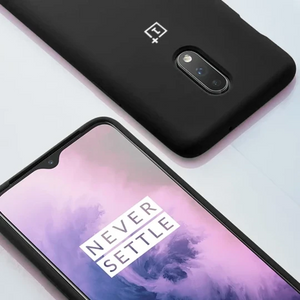 OnePlus 7 Liquid Silicone Case - Black