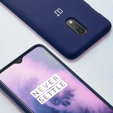 Load image into Gallery viewer, OnePlus 7 Liquid Silicone Case - Blue