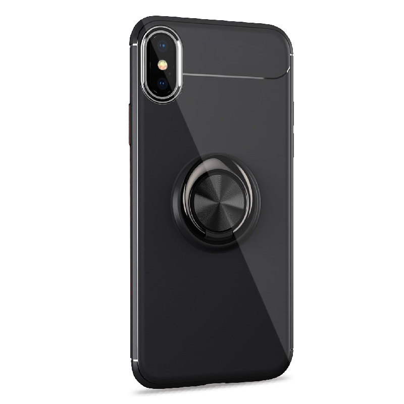 iPHONE XR FINGER RING SILICONE CASE
