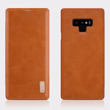Load image into Gallery viewer, Samsung Galaxy Note 9 Leather Card Slot Flip Case