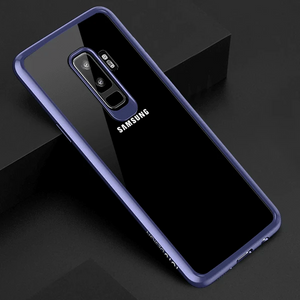 GALAXY S9 PLUS BUMPER AUTO-FOCUS TRANSPARENT CASE