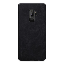 Load image into Gallery viewer, Galaxy S9 Plus Genuine Leather Flip With Card Slot Case
