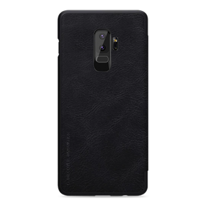 Galaxy S9 Plus Genuine Leather Flip With Card Slot Case