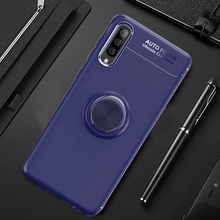 Load image into Gallery viewer, Galaxy A50 Finger Ring Silicone Hybrid Case
