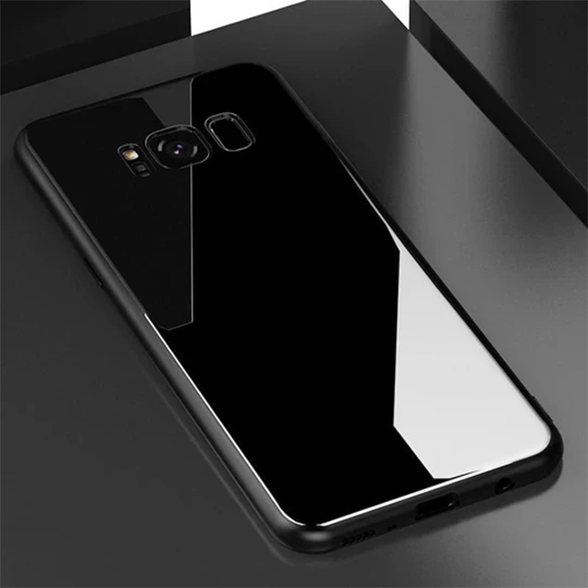 Galaxy S8 Plus Tempered Glass Back Case