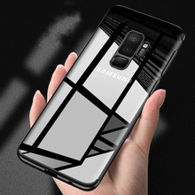 Load image into Gallery viewer, Galaxy J8 Silicone Ultra Thin Transparent Case