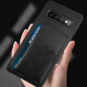Samsung Galaxy S10 Leather Case - Hybrid Series