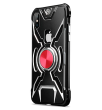 Load image into Gallery viewer, iPhone 7 Plus Iron Man Metal Case