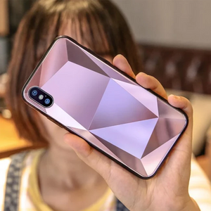 iPhone Xs Max Diamond Mirror Crystal Case