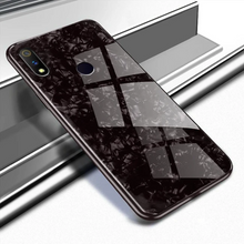 Load image into Gallery viewer, Samsung Galaxy M20 Hybrid Marble Back Case