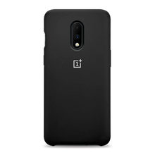 Load image into Gallery viewer, OnePlus 7 Liquid Silicone Case - Black