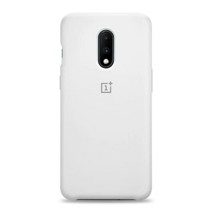 OnePlus 7 Liquid Silicone Case - White