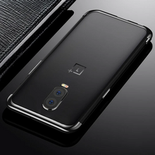 Load image into Gallery viewer, OnePlus 6T Original Electroplating Transparent Back Case