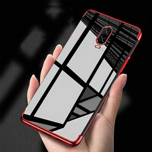 OnePlus 6T Original Electroplating Transparent Back Case
