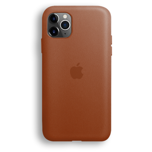 LEATHER CASE - SADDLE BROWN
