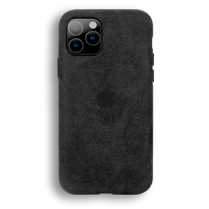 SUEDE CASE - BLACK