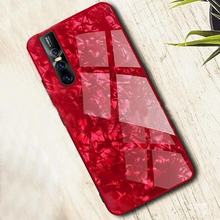 Load image into Gallery viewer, Vivo V15 Textured Marble Back Case