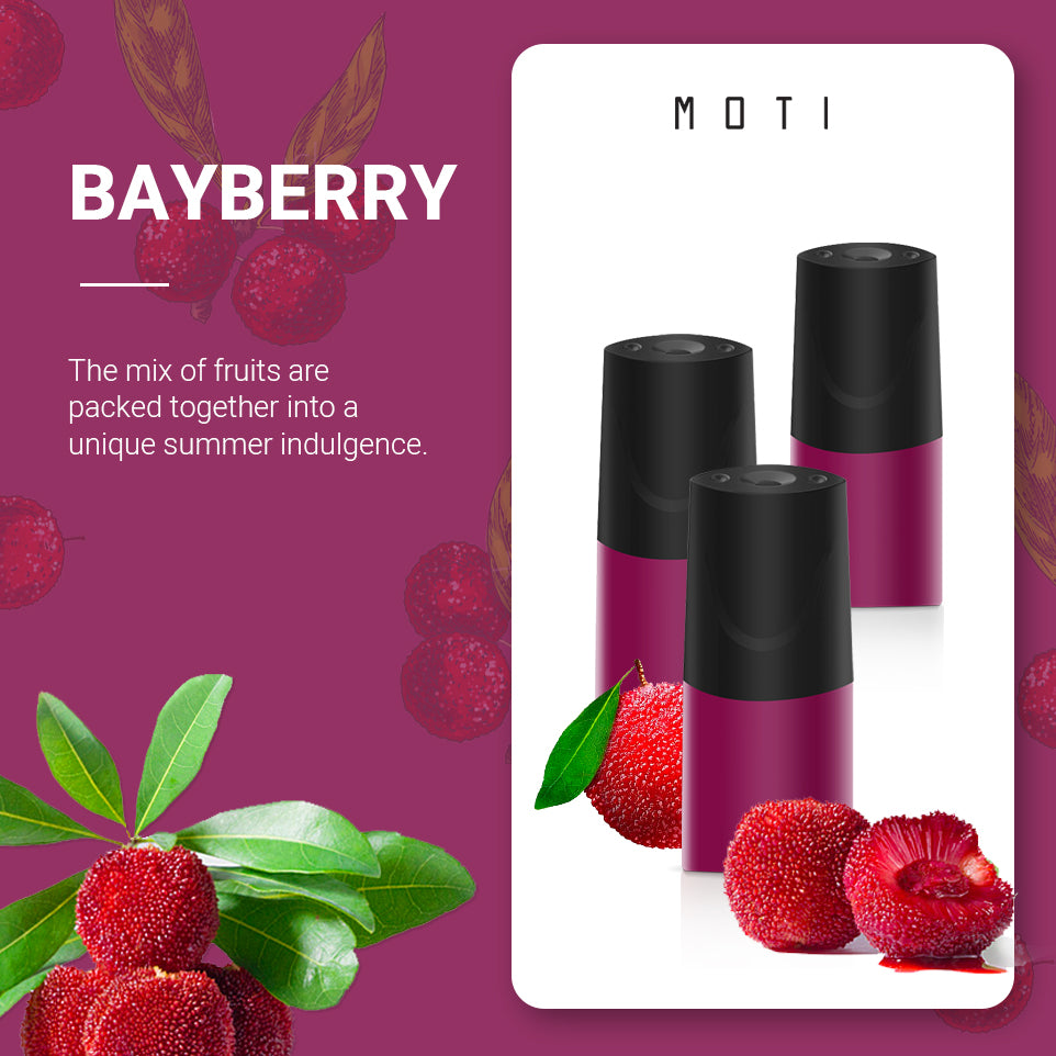 MOTI Pre-filled Pods Bayberry(3 Packs)