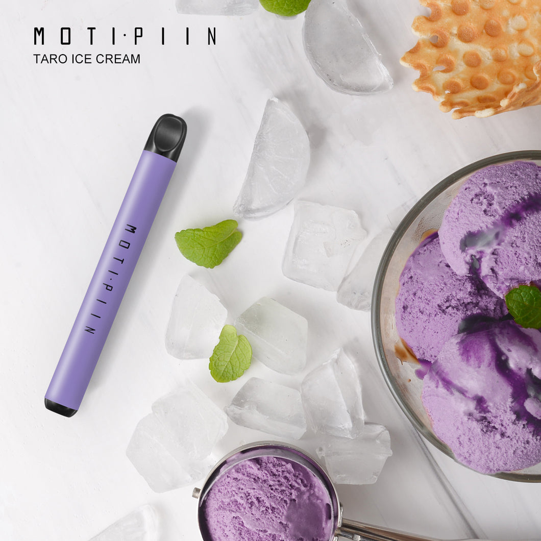 MOTI PIIN Disposable Pod Kit Taro Ice cream