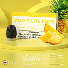 Load image into Gallery viewer, MOTI S Lite  Pre-filled Pods Tropical-Pineapple (3 Packs)