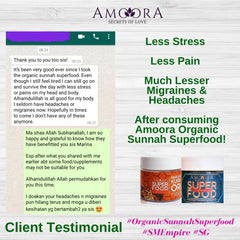 Amoora Bijirin Review Less Migraine