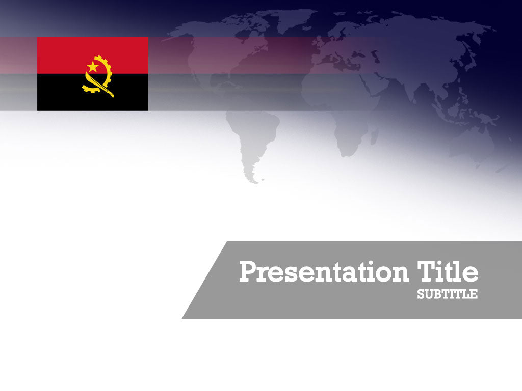 free-angola-flag-PPT-template