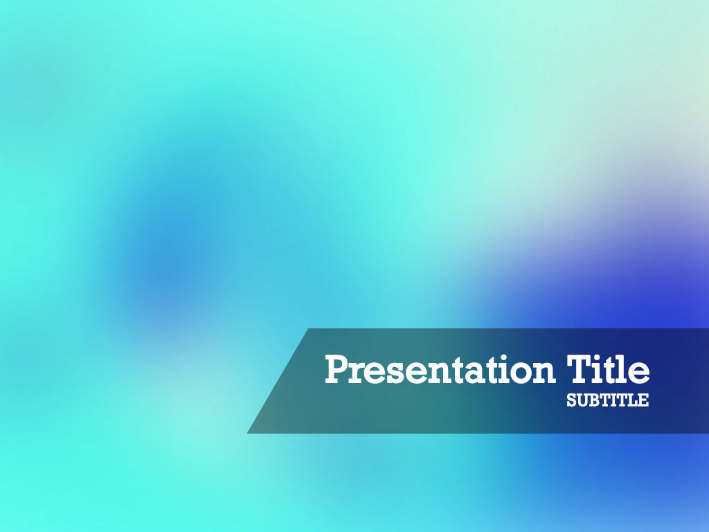 free-aqua-background-PPT-template