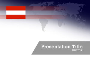 free-austria-flag-PPT-template