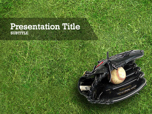 free-baseball-glove-with-ball-PPT-template