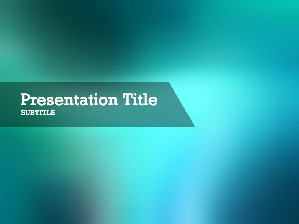 free-beach-glass-PPT-template