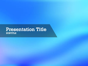 free-blue-wave-PPT-template