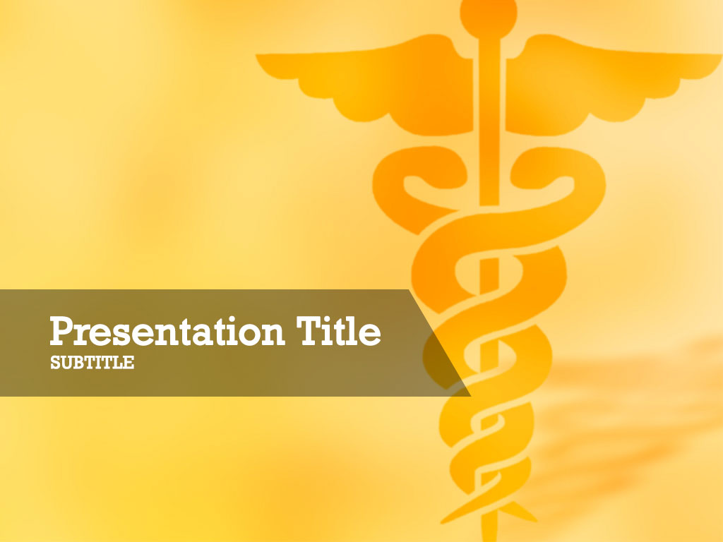 free-caduceus-symbol-of-medicine-PPT-template