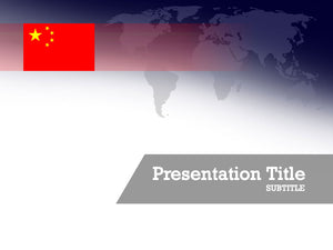 free-china-flag-PPT-template