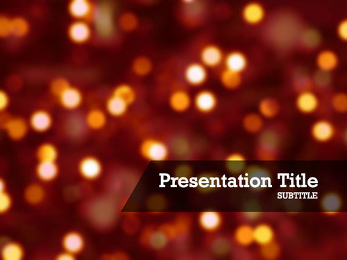 free-christmas-lights-PPT-template