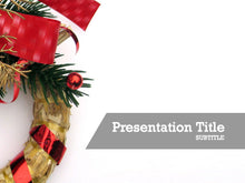 Load image into Gallery viewer, free-christmas-ornament-PPT-template