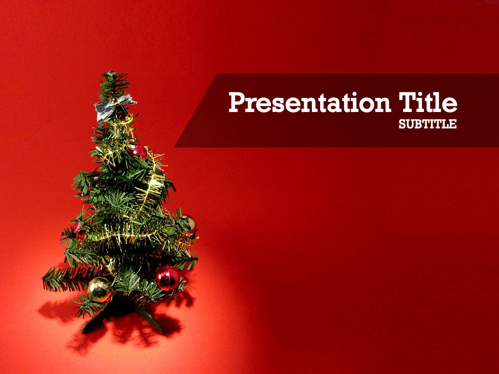 free-christmas-tree-PPT-template