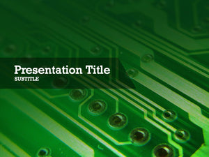 free-circuit-board-PPT-template