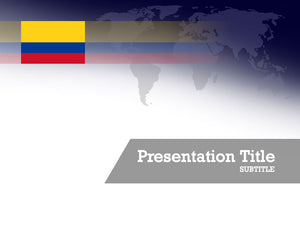 free-colombia-flag-PPT-template