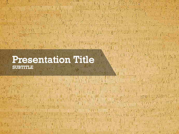 free-cork-PPT-template