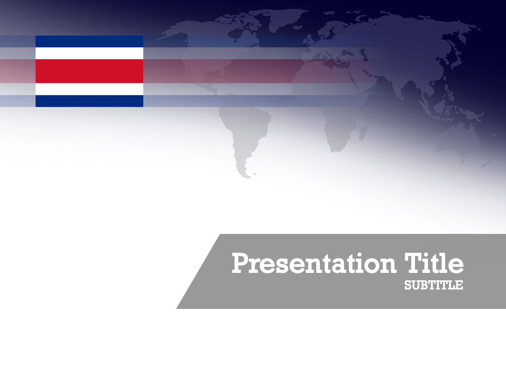 free-costa-rica-flag-PPT-template
