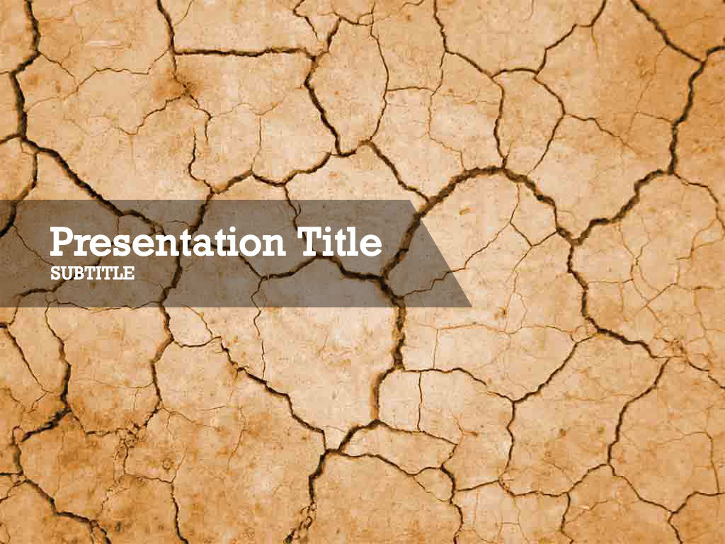 free-cracked-earth-PPT-template