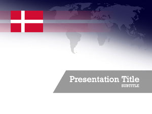 free-denmark-flag-PPT-template