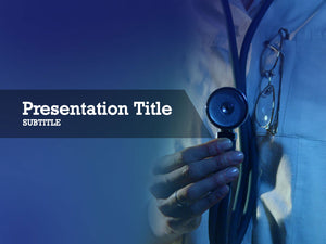 free-doctor-with-stethoscope-PPT-template