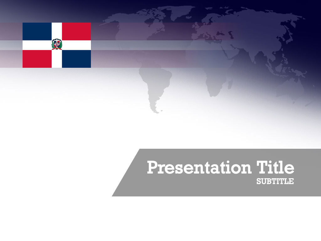 free-dominican-republic-flag-PPT-template