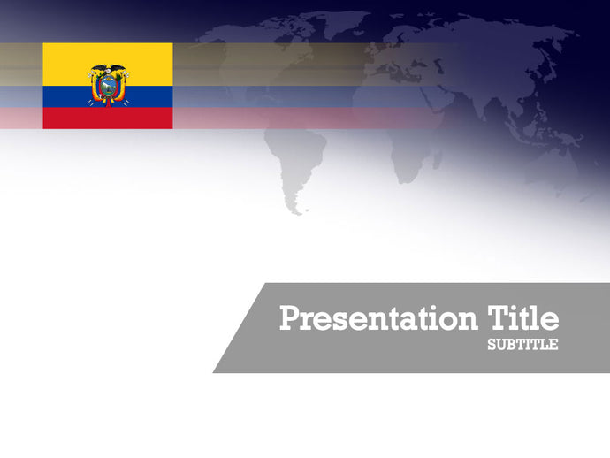 free-ecuador-flag-PPT-template
