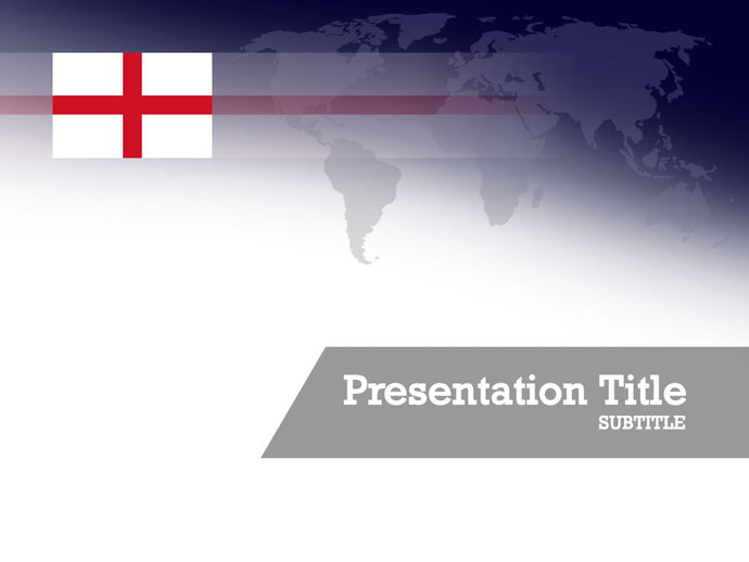 free-england-flag-PPT-template