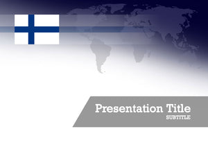 free-finland-flag-PPT-template