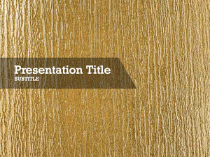 free-golden-texture-PPT-template